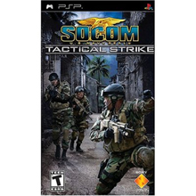 Sony PS Socom Tactical Strike PSP