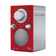 Tivoli Audio Pal Red/Silver Radio