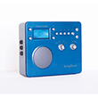 Tivoli Audio Songbook Radio Blue Silver