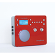 Tivoli Audio Songbook Radio Red Silver