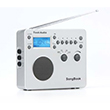 Tivoli Audio Songbook Radio White Silver