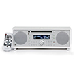 Tivoli Audio Music System White Silver
