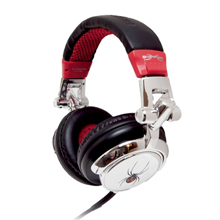 EarPollution DJ Silver Spider Headset