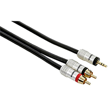 Hama HTL 3,5mm-2 Phono /1,5m