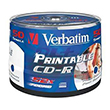 Verbatim CD-R 50-P 700MB52XWIDEPRINT/INK