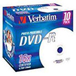 Verbatim DVD-R 10-P 4,7GB 16X PRINTABLE