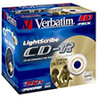 Verbatim CD-R 10-PACK 52X LIGHTSCRIBE