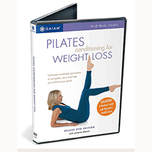 Gaiam Pilates conditioning for Weight Loss kun DVD