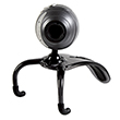 SpeedLink Snappy Microphone Webcam, black