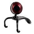 SpeedLink Snappy Microphone Webcam, red