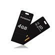 Transcend Minnebrikke Jetflash T3 USB-minne 4GB sort