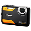 Pentax Digitalt kamera Optio WS80 Black/Orange(Norsk utgave)